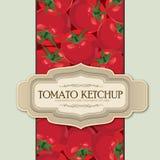 Tomato label. Stock Photos
