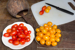 Tomato is the Lycopene source which good for health Stock Photography