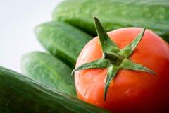 Tomato. Macro zoom look on tomatoes Stock Photos