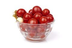 Tomato marinaded Royalty Free Stock Photography