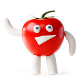 Tomato mascot Royalty Free Stock Photo