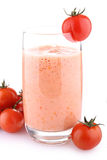 Tomato milkshake Stock Photos