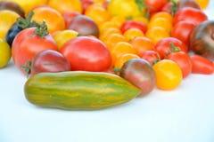 Tomato mix colors Stock Photo