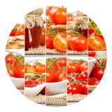 Tomato Mix Slices Stock Photo