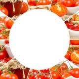 Tomato Mix Slices Stock Image