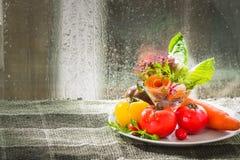Tomato and mix vegetable Stock Photos