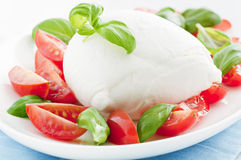 Tomato Mozarella Royalty Free Stock Photo