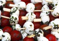 Tomato and mozzarella Stock Image