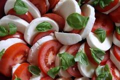Tomato and Mozzarella Royalty Free Stock Images