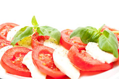 Tomato & Mozzarella Royalty Free Stock Image