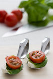 Tomato Mozzarella Stock Photo