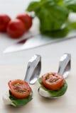 Tomato Mozzarella Stock Photo