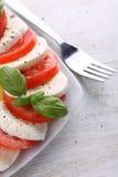 Tomato and mozzarella Royalty Free Stock Photography