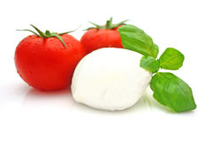 Tomato mozzarella royalty free stock photography