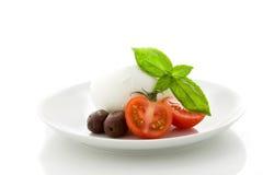 Tomato Mozzarella appetizer Stock Photos