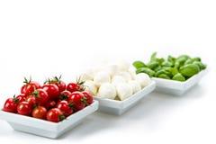 Tomato Mozzarella Basil Royalty Free Stock Image