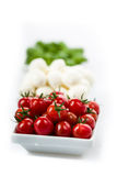 Tomato Mozzarella Basil Royalty Free Stock Photos