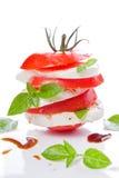 Tomato And Mozzarella Stock Photo