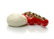 Tomato & Mozzarella II Stock Photo