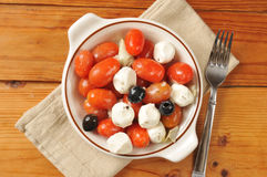 Tomato mozzarella salad Royalty Free Stock Image