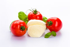 Tomato mozzarella Stock Photography