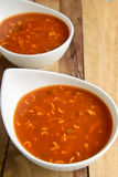 Tomato Noodle Soup Royalty Free Stock Photos