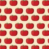 Tomato nutrition seamless pattern image. Vector illustration eps 10 Stock Photos