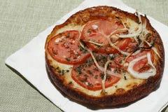 Tomato Onion Pizza Stock Photos