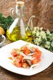 Tomato and onions salad Royalty Free Stock Photos