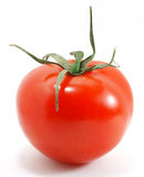 Tomato over white Stock Photo