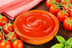 Tomato passata Royalty Free Stock Images