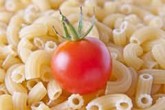 Tomato and Pasta Royalty Free Stock Image