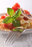 Tomato pasta Royalty Free Stock Photography
