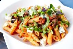 Tomato pasta Royalty Free Stock Image