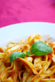 Tomato pasta Royalty Free Stock Photos