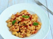Tomato Pasta Stock Image