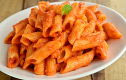 Tomato Pasta Royalty Free Stock Photo