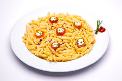Tomato pasta dish Royalty Free Stock Photo