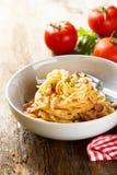Tomato pasta Royalty Free Stock Photo