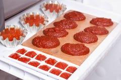 Tomato paste and tomato juice Royalty Free Stock Photo