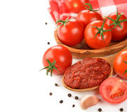 Tomato paste Royalty Free Stock Photo
