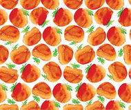 Tomato pattern Royalty Free Stock Photography