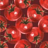Tomato pattern 5 Stock Photo