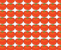Tomato pattern illustration Royalty Free Stock Photography