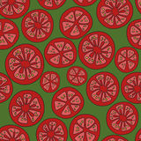 Tomato pattern Stock Images