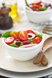 Tomato,Pea and Bean salad Stock Images