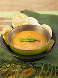 Tomato and peanut dip Royalty Free Stock Image