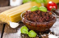 Tomato Pesto Royalty Free Stock Images