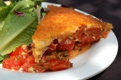 Tomato Pie Stock Photos