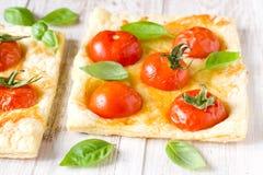 Tomato pie Stock Photography